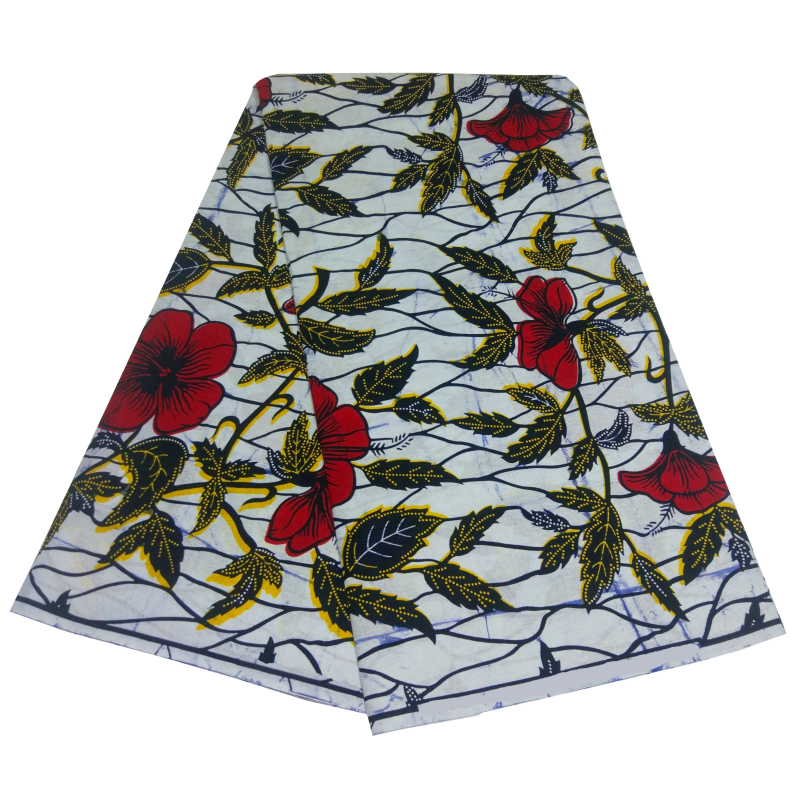Ankara Fabric Wax African Fabric 100% Cotton High Quality African Wax Prints Fabric 2020 Soft Wax Fabric 6yard For Dress