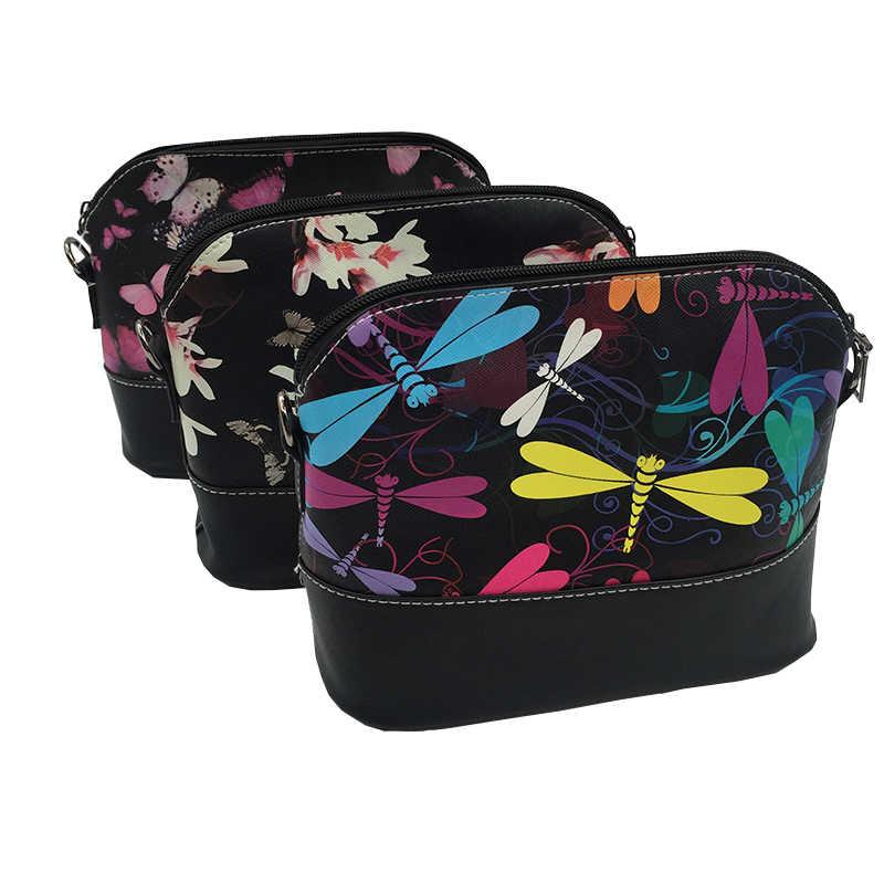 Sacos do mensageiro para as mulheres 2019 famosa marca pacote de concha bolsa de ombro bolsa de couro feminina bolsa casual crossbody saco