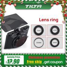 Anillo de lente Tilta para Mini caja mate DSLR, estilo sin Espejo, accesorios de lente Tilta