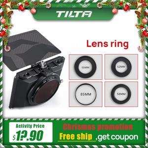 Image 1 - Instock Tilta objektiv ring für Mini Matte Box DSLR spiegellose stil kameras Tilta objektiv ring zubehör