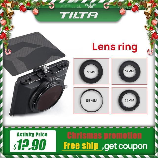 Instock Tilta objektiv ring für Mini Matte Box DSLR spiegellose stil kameras Tilta objektiv ring zubehör
