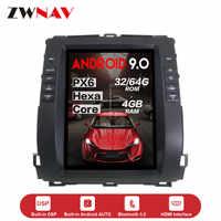 verticl Tesla style Android 9.0 Car multimedia unit For Toyota Land Cruiser Prado 120 2002-2009 Lexus GX470 car GPS radio stereo