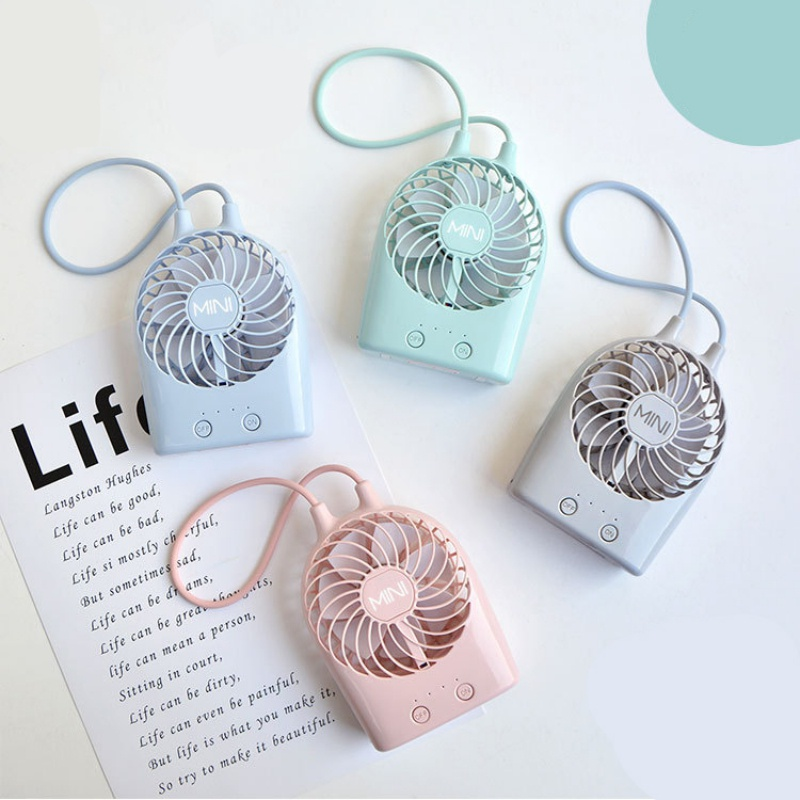 Usb Charging Mini Fans For Student Outdoor Travel Bring Portable Small Fan Mini Air Cooler Fan Air Purification