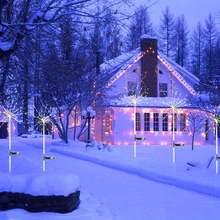 Светильник со звездами теплый белый/красочный уличное украшение