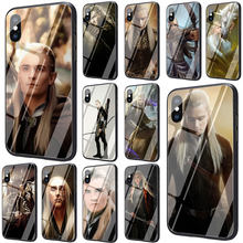 Lord of The Rings Legolas Greenleaf Gehard Glas Telefoon Cover Case voor iphone 5 5S 6 6S Plus 7 8 plus X XS XR 11 Pro Max(China)