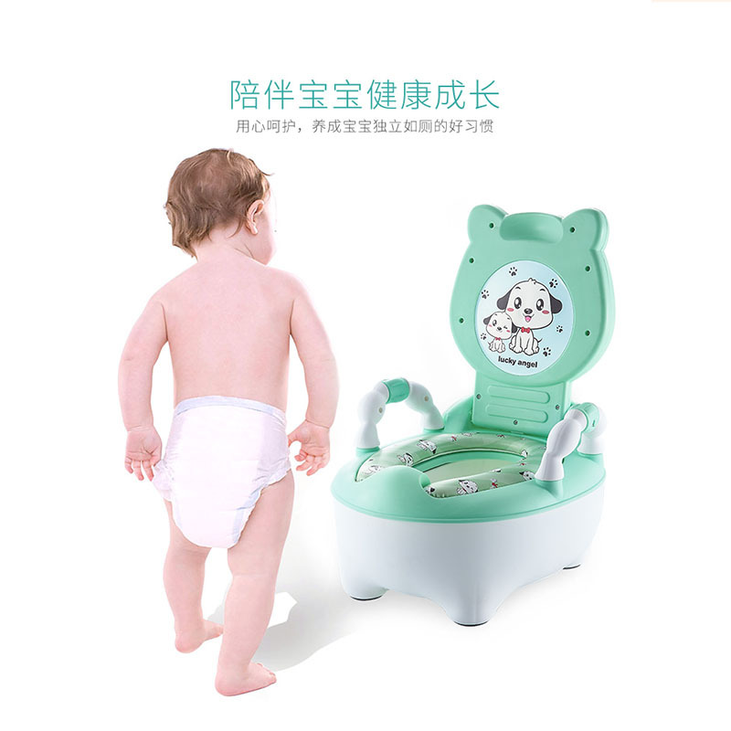 Extra-large No. Children Padded GIRL'S And BOY'S Multi-functional Pedestal Pan Chamber Pot Infants Children Potty Baby Training