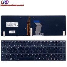 Новая Оригинальная клавиатура с турецкой подсветкой TR для ноутбука Lenovo Y580 Y580A Y580N 25203126 25203066 25203438