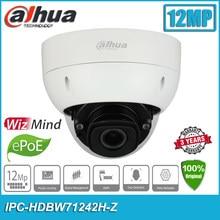 Original Dahua IPC-HDBW71242H-Z 12MP H.265 IP67 IK10 PoE + 4K IR 40m Dome WizMind Netzwerk CCTV IP Kamera HDBW71242H-Z