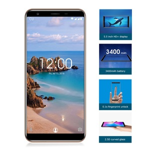 Image 2 - OUKITEL C11 Pro 4G Smartphone 5.5 inch 18:9 Android 8.1 Quad Core 3GB RAM 16GB ROM Cell phones 3400mAh Mobile Phone