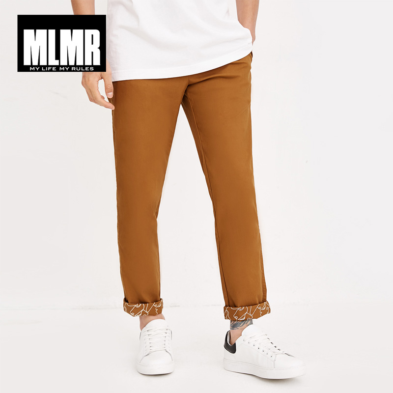 Jack Jones  Men's Loose Casual Cotton Elastic Business Pants| 218314515