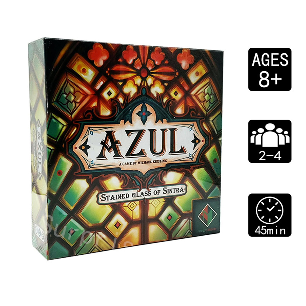 Azul 2nd  Edition Board Gmae Azul: Stained Glass Of Sintra Azul Second Edition 2-4 Players  Family Party Games
