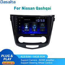 Android 10 Auto Radio Voor Nissan Qashqai J11 X-Trail Multimedia 2014-2018 2Din Autoradio Dsp Hd Ips 1028*720 Carplay Hdmi 4 + 64Gb