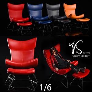 VSTOYS 1/6 19XG46 Alloy Leisure Chair Scene for 12inch Action Figure DIY