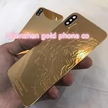 Acquista IPhone 5s SE Custodia Posteriore Custodia REAL GOLD 24CT
