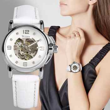 Women's Watch Automatic Mechanical Watch Ladies Clock Skeletons Wristwatch Hollow Out Automatic-self-winding - DISCOUNT ITEM  30% OFF All Category