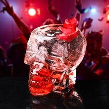 Кости Броня Воин череп предназначен для вина кружка стеклянной чашки Готический для дома барная посуда для напитков виски вино череп чашка питьевой воды