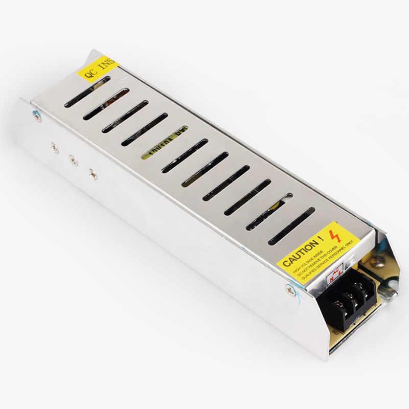 AC 220V כדי DC 12 V 1.25A 2A 3A 5A 10A 15A 20A 30A 50A מתג הוביל מתאם נהג אספקת חשמל עבור CCTV 5050 RGB LED רצועת אור