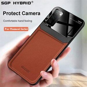 Кожаный чехол с камерой для Huawei P40 P30 P20 Mate 30 20 Pro Lite, чехол для телефона Honor 9 9x10 lite 8X 20 20i V30 Pro P40Pro, чехлы