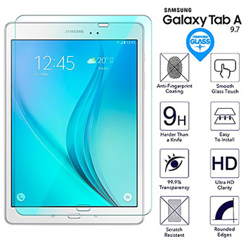 9H HD Tempered Glass For Samsung Galaxy Tab A 9.7 inch SM-T550 SM-T555 SM-T551 P550 P555 Tablet Screen Protector Protective Film image