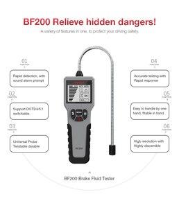 Image 4 - Тестер тормозной жидкости EDIAG BF100 BF200 для DOT 3 DOT4 DOT5.1 с высоким разрешением и ЖК дисплеем