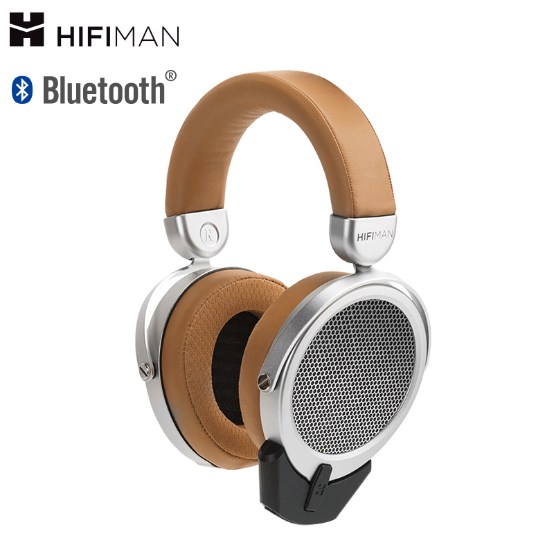 HIFIMAN Deva Over-Ear Full-Size Open-Back Planar Magnetic Headphone with Bluetooth Dongle/Receiver, Balanced Input headphone