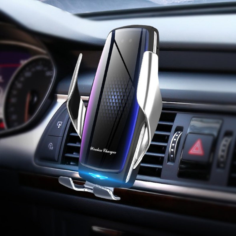 20W Wireless Car Charger with Air Purifier Wireless Chargers