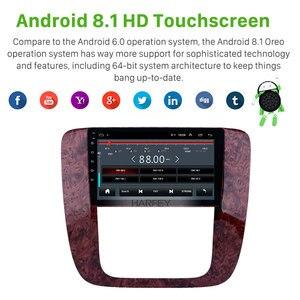 "Image 2 - Harfey 9 ""android 9.0 gps carro navi rádio 2din para 2007 2012 gmc yukon/acadia/tahoe chevy chevrolet tahoe/suburban buick enclave"
