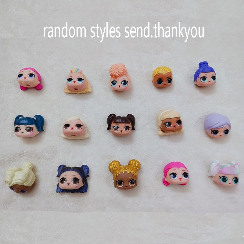 Original LOL SURPRISE Dolls DIY Lols Dolls Ball Puzzle Toys LOL Capsule Girl Toys Accessories Surprise Dolls Random Styles 3CM