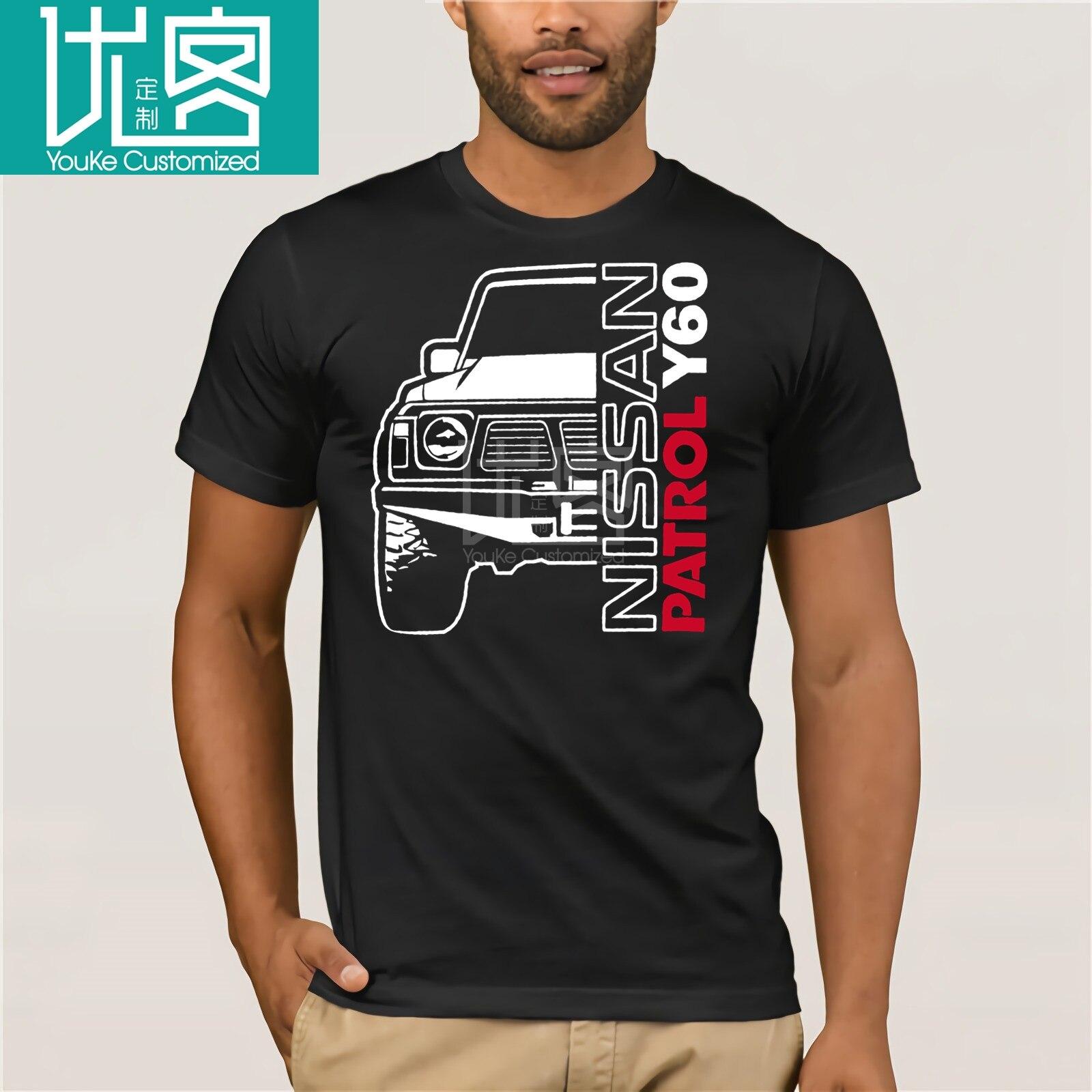 Nissan Patrol Y60 T-shirt Men's New Fashion O-neck Cotton Short Sleeves Tops Tee Printed Unisex Casual T-shirt