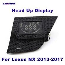Accessori auto HUD Head Up Display per Lexus NX 2013 2014 2015 2016 2017 schermo di guida sicuro proiettore tachimetro OBD
