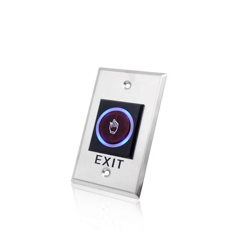 LPSECURITY No Touch Exit Switch Inductive/Exit Button Sensor Access Control DC12V With LED Indicator