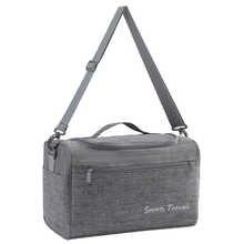 Cation Fabric Large Capacity Travel Bag Waterproof Shoulder Luggage Bags Packing Cubes Duffel Bag Women Portable Weekend Bags