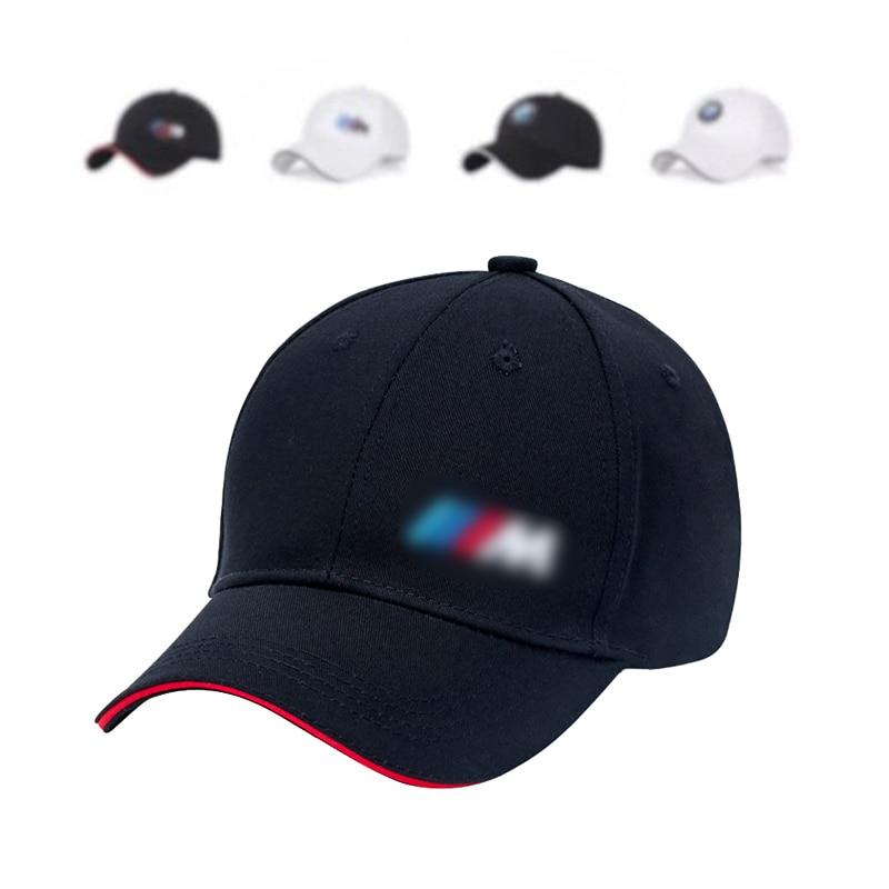Women/ Men  Fashion Cotton Car Logo M Performance Baseball Cap Hat For Cotton Fashion Hip Hop Cap Hats