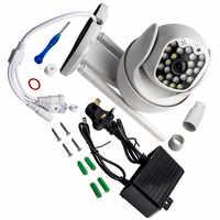 MPEG4-cámara de seguridad impermeable 1080P HD, CCTV, IP, para exteriores, WiFi, PTZ, cámara IR inalámbrica