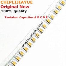 100PCS Tantalum Capacitor Type A 106 107 476 105 226 336 224 475 10V 16V 25V 35V 6.3V 0.22UF 1UF 4.7UF 10UF 22UF 33UF 47UF 100UF