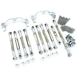 Металлический Тяговый стержень для рулевой тяги, Тяговая тяга для MN D90 D91 D96 D99S MN90 MS 1/12, запчасти для обновленного радиоуправляемого автомоби...