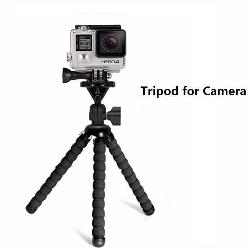 Flexible Mini Tripod Flexible Phone Tripod With Phone Clip Camera mini tripod For Smartphone & Camera Flexible Mini Tripod 3