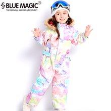 19 лыжных костюмов bluemagic для детей водонепроницаемый комбинезон