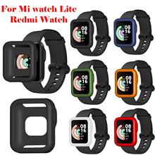 Obudowa ochronna do zegarka Xiaomi Mi Lite Redmi zegarek TPU Shell miękka osłona przeciwpyłowa Protector Smart Watch akcesoria tanie tanio HEYGENIALES CN (pochodzenie) Przypadki None Dla osób dorosłych Zgodna ze wszystkimi
