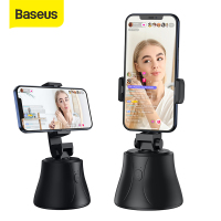 Baseus Smart Bluetooth Selfie Stick 360° Rotation Al Following Shot Tripod Head Auto Face Object Tracking Hands-free Shooting
