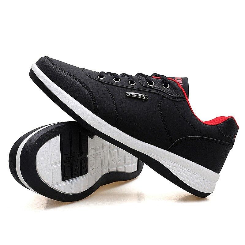 Men's Winter Sneakers PU Leather 5