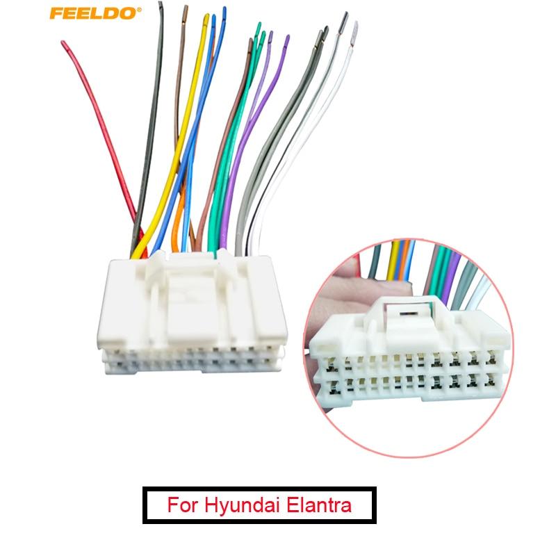 car radio stereo wire wiring harness to factory mega deals b1qjl feeldo 1pc car audio stereo wiring harness  feeldo 1pc car audio stereo wiring
