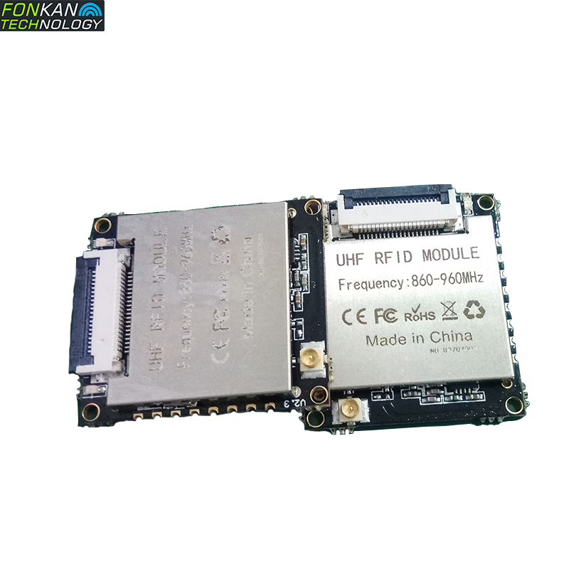 FONKAN High Performance EU/US Frequency Mini ISO18000-6C UHF RFID PR9200 Chip Based Module