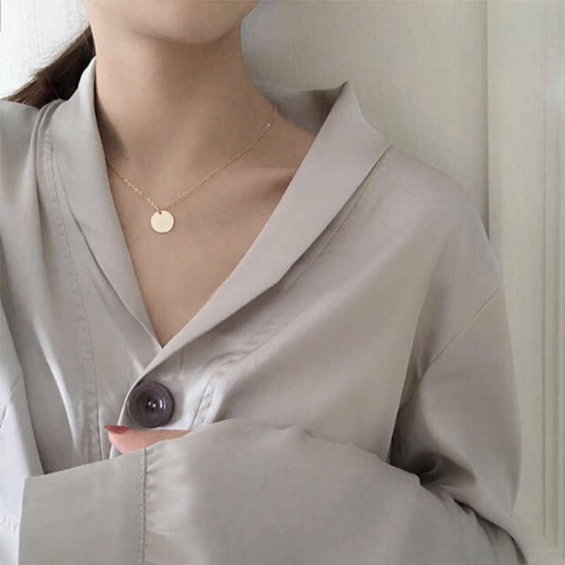 Hati Kecil Kalung untuk Wanita Rantai Pendek Bintang Jantung Liontin Kalung Hadiah Etnis Bohemian Chokers Kalung Perhiasan Grosir