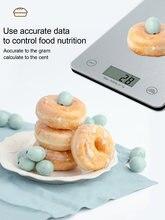 Бытовые кухонные весы 5 кг электронные пищевые для выпечки измерительный