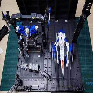 Image 5 - 4 개/대 DIY 기계 체인 액션 디스플레이 기본 기계 둥지 1/100 건담 모델에 대 한 Decals