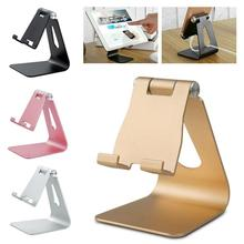 4 Colors Aluminium Alloy Mobile Phone Holder Stand Metal Tablet Stand Holder For