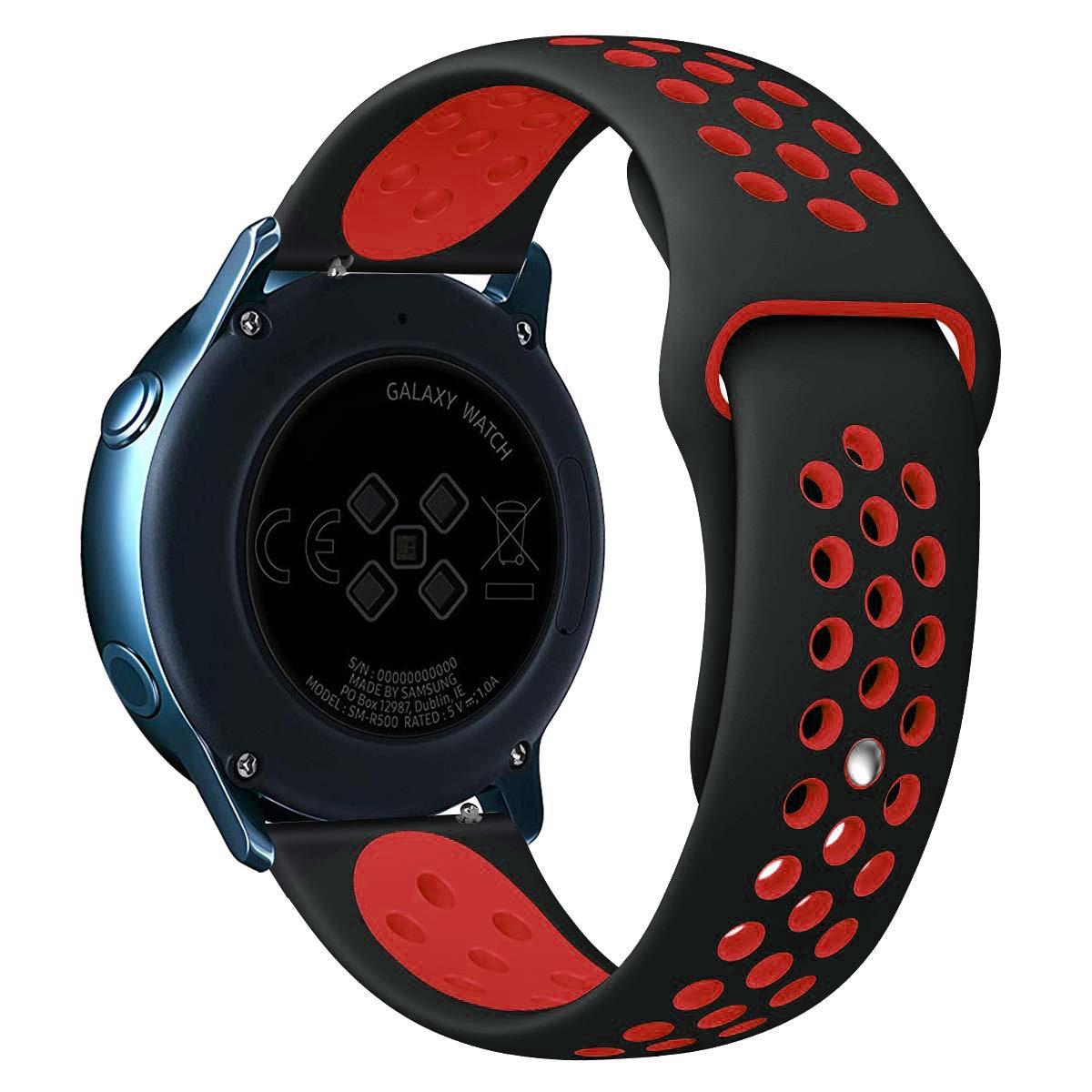 Ремешок для часов Huawei GT/2/2E/Pro, браслет для Gear s3 Frontier Samsung Galaxy watch 3/46 мм/42 мм/Active 2 40 мм 44 мм, 20 мм/22 мм