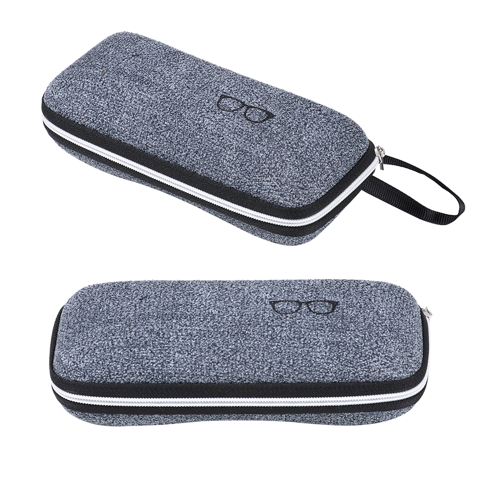 New 1Pcs EVA Eyewear Cases Cover Sunglasses Case For Women Fashion Glasses Box With Lanyard Zipper Eyeglass Cases For Men Women