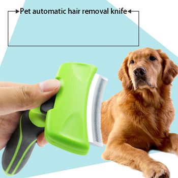 2020 New Pet Hair Remover Combs Furmine Cat Grooming Brush Deshedding Tool Comb Edge Trimming Dog Cat Rake Removal fur brush double side pet fur dog brush comb rake hair brush cat grooming deshedding trimmer tool dog comb pet brush rake 12 23 blades